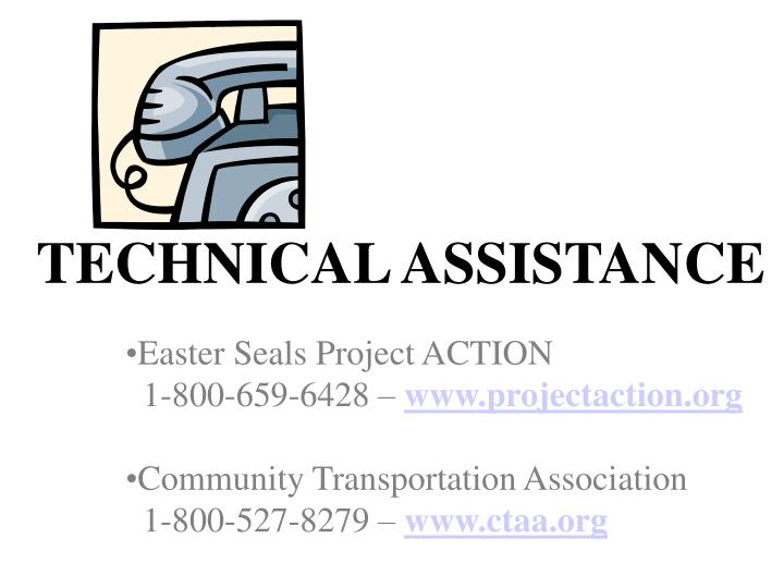 easter seals project action For specific information on the veterans transportation and community living initiative capital grants program prepared for us by easter seals project action.