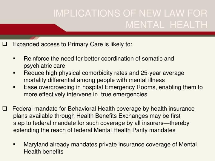 Expanded access to Primary Care is likely to: