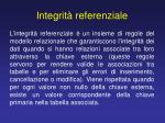 integrit referenziale