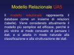 modello relazionale ua5