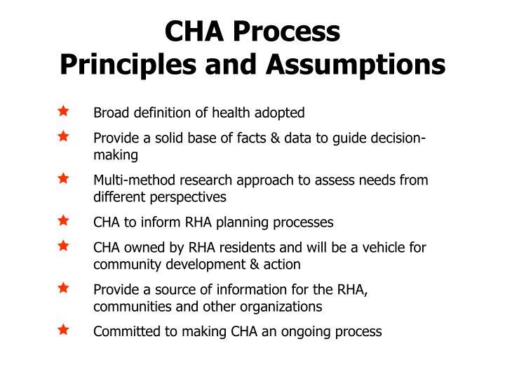 CHA Process