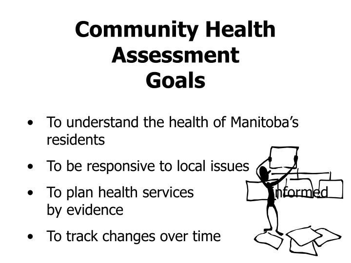 Community health assessment goals