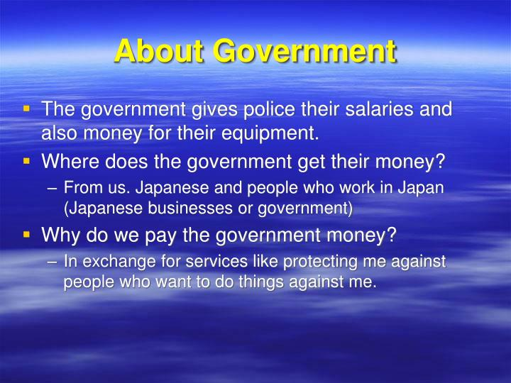 About Government