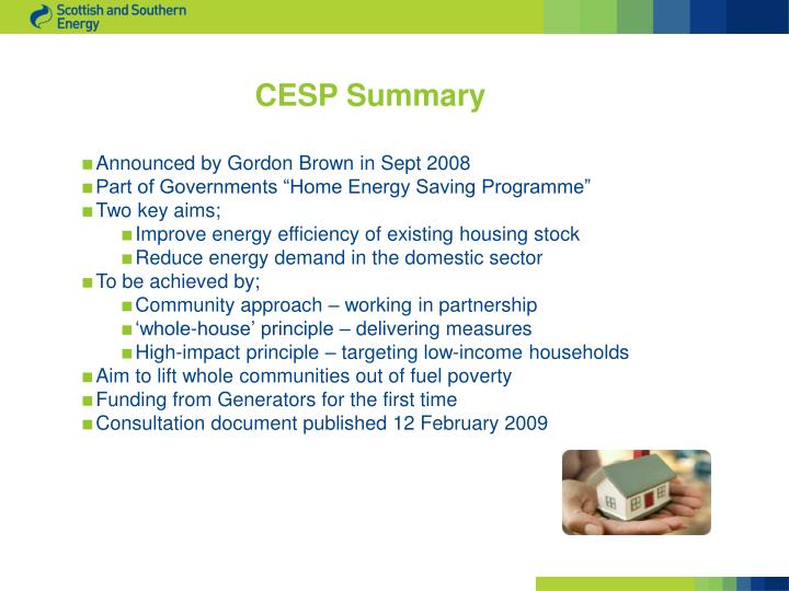 CESP Summary