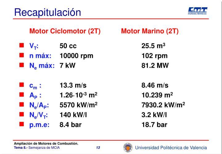 Motor Ciclomotor (2T)Motor Marino (2T)