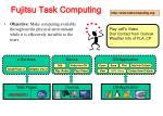 fujitsu task computing