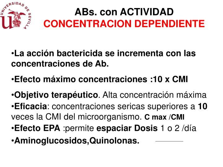 ABs. con ACTIVIDAD
