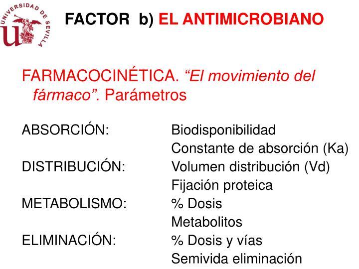 FACTOR  b)