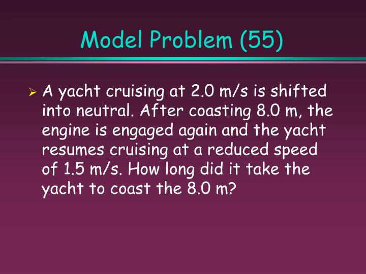 Model Problem (55)