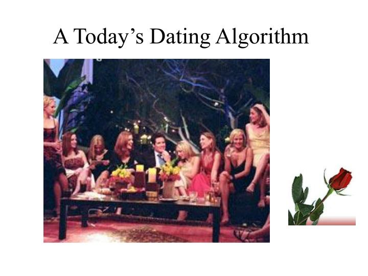 A Today's Dating Algorithm