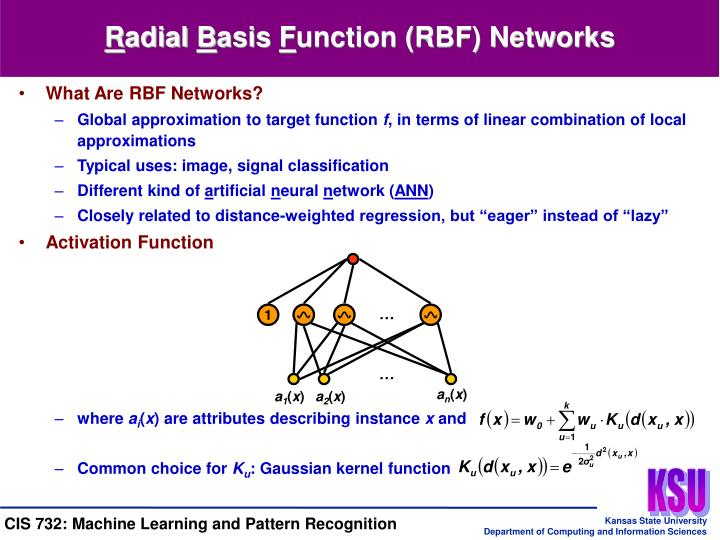 What Are RBF Networks?