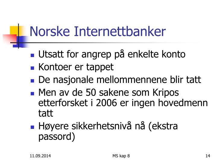Norske Internettbanker