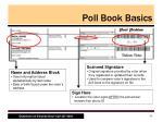 poll book basics2