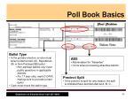 poll book basics3