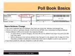 poll book basics6