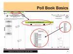 poll book basics8