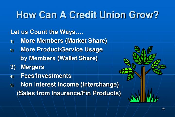 How Can A Credit Union Grow?
