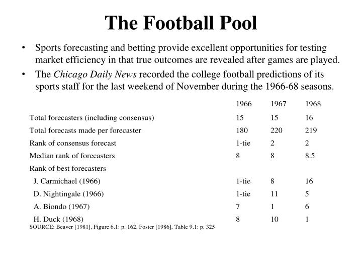 The Football Pool