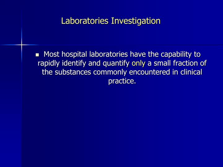 Laboratories Investigation