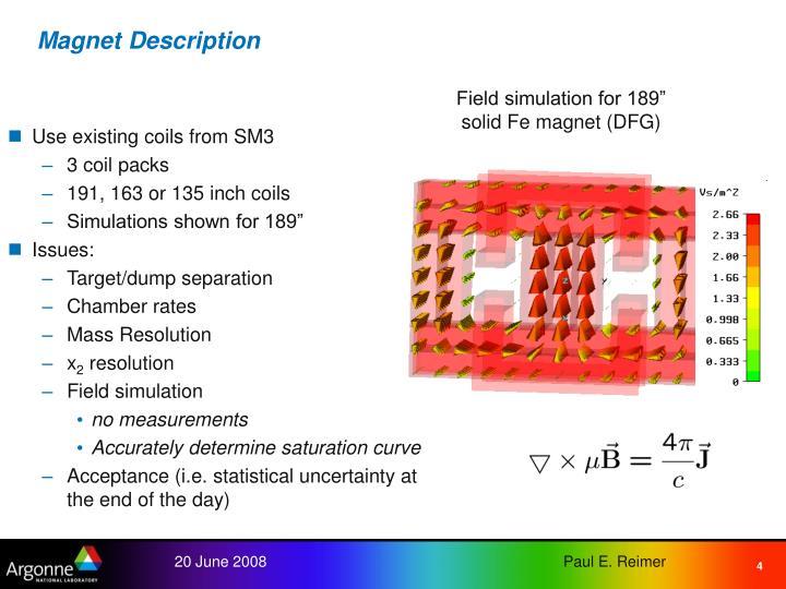 Magnet Description