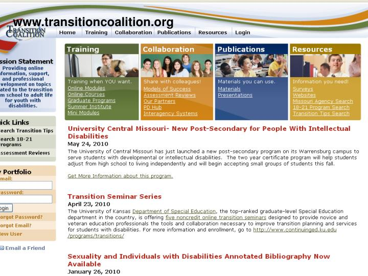 Www.transitioncoalition.org