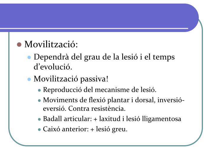 Movilització: