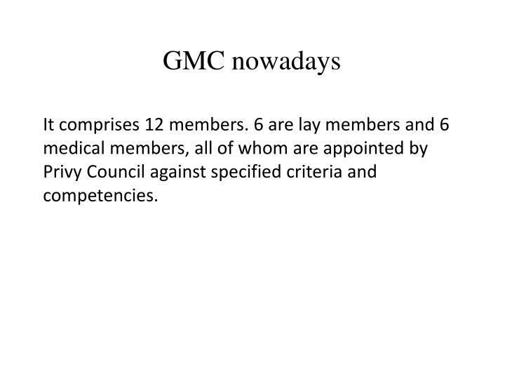 GMC nowadays