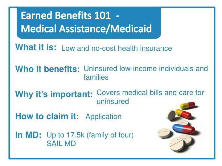 Earned Benefits 101  -