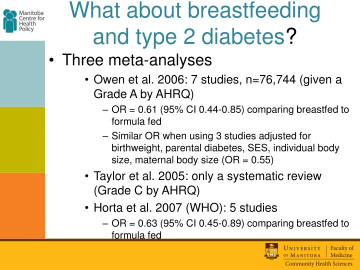 What about breastfeeding and type 2 diabetes
