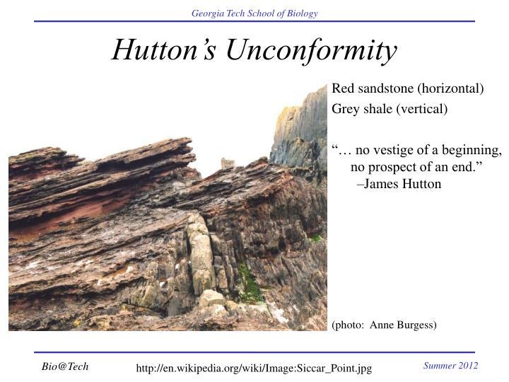 Hutton's Unconformity