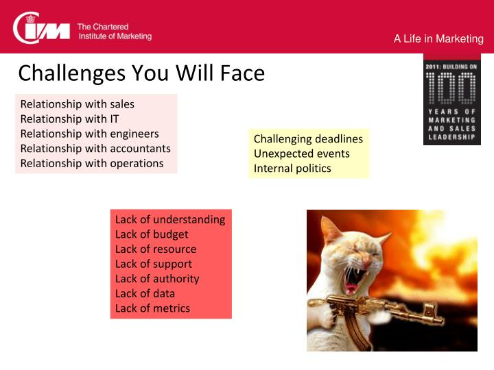 Challenges You Will Face