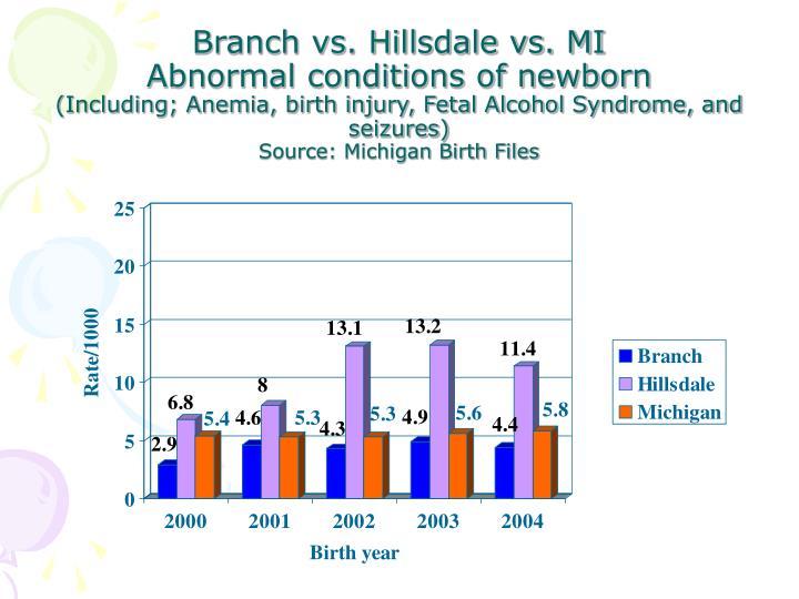 Branch vs. Hillsdale vs. MI