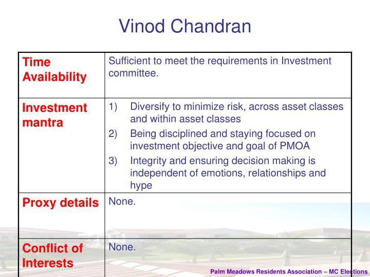 Vinod chandran1