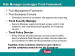 risk manager leverages tivoli framework