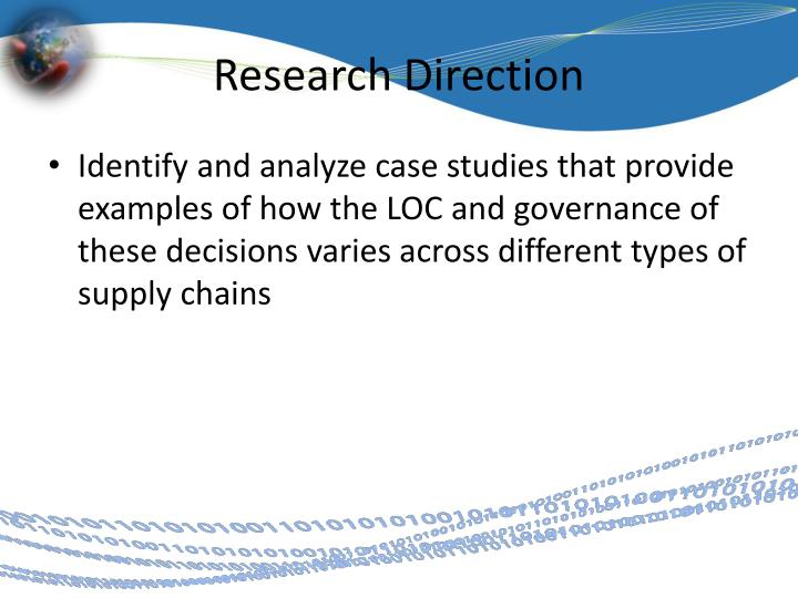 Research Direction