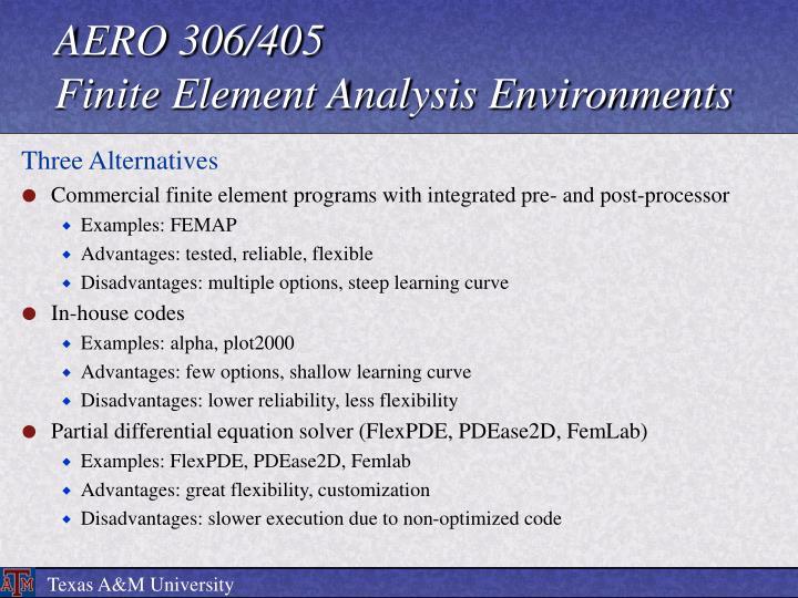 AERO 306/405
