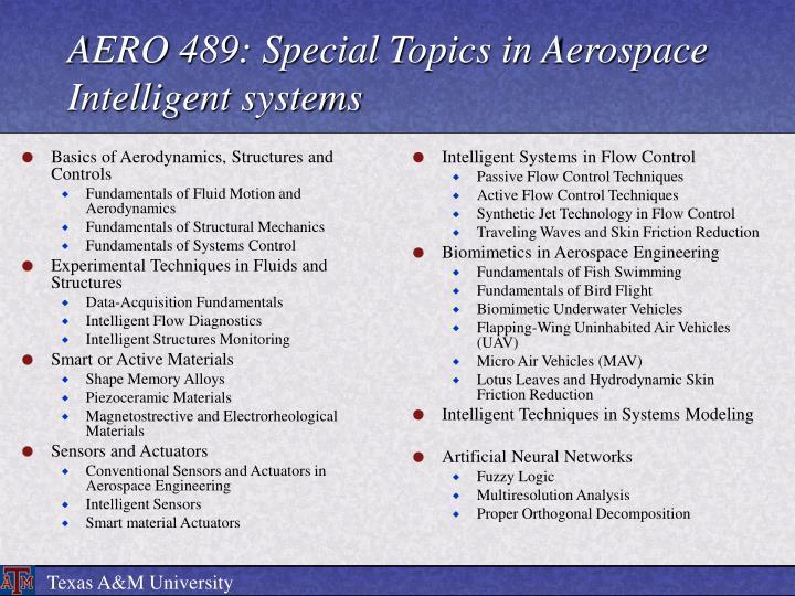 Basics of Aerodynamics, Structures and Controls