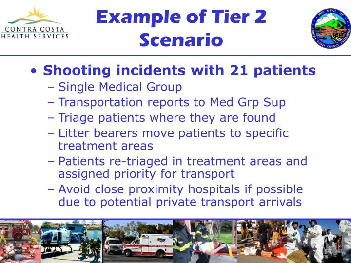 Example of Tier 2 Scenario