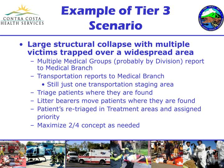 Example of Tier 3 Scenario