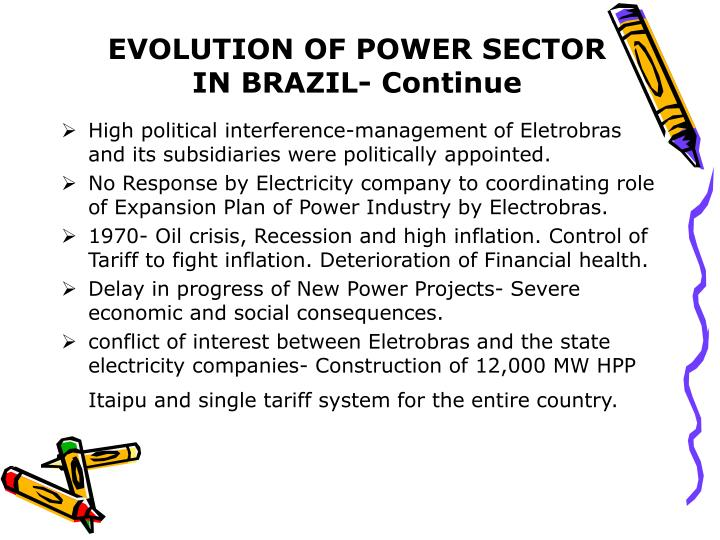 EVOLUTION OF POWER SECTOR