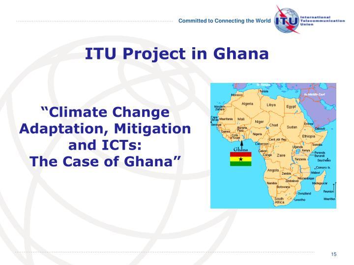 ITU Project in Ghana
