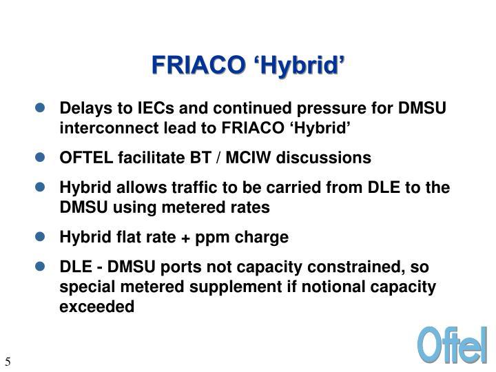 FRIACO 'Hybrid'