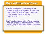 more information power1