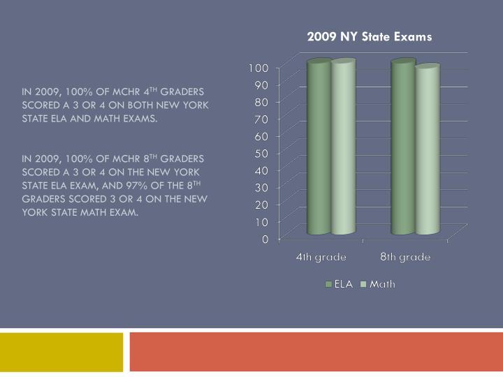 2009 NY State Exams