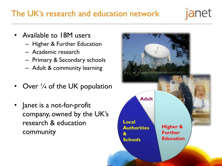 The uk s research and education network