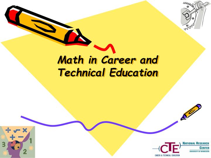 Math in career and technical education