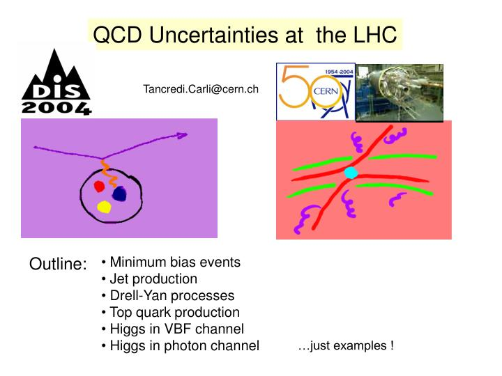 QCD Uncertainties at  the LHC