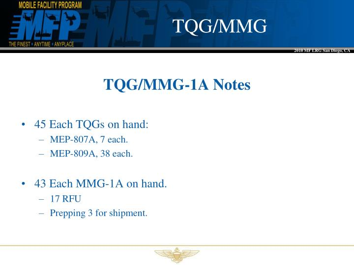 TQG/MMG