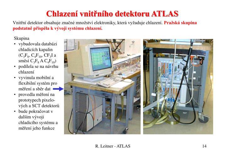 Chlazení vnitřního detektoru ATLAS