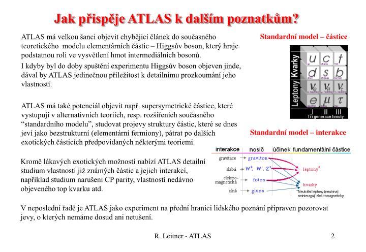 Jak p isp je atlas k dal m poznatk m